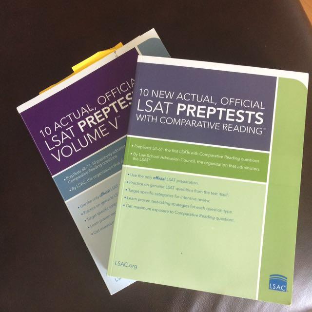 2 LSAT prep tests 52-61 & 62-67 (free pdf)