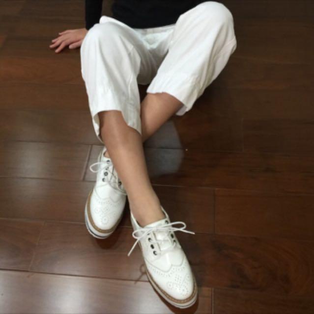 英倫牛津厚底鞋(38)