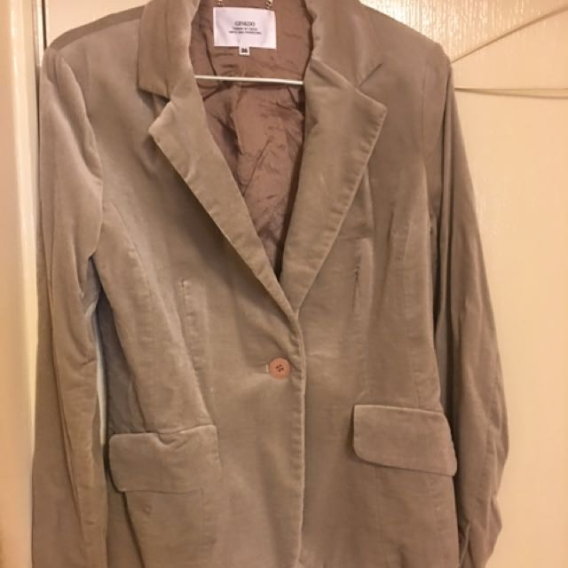絨布料外套保暖好看原價4千多