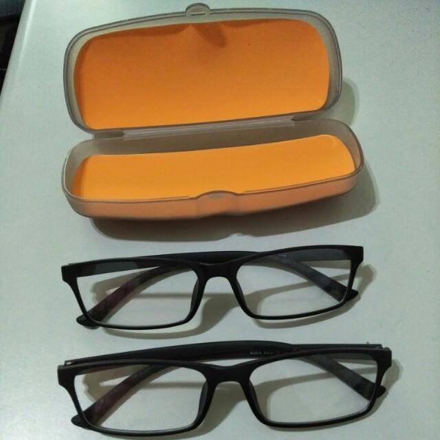 全新沒帶過的平光眼鏡