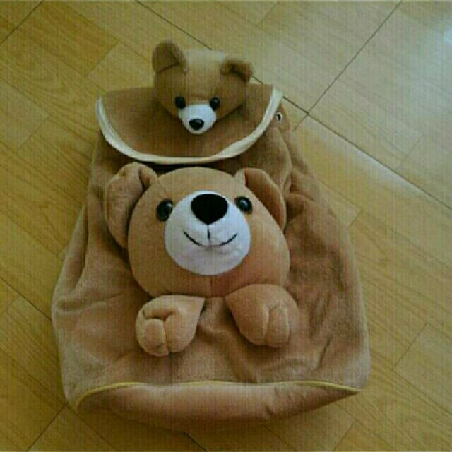 母子熊熊後背包