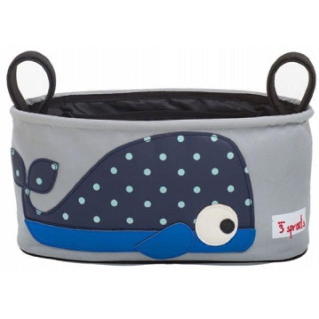 嬰兒推車置物袋-鯨魚