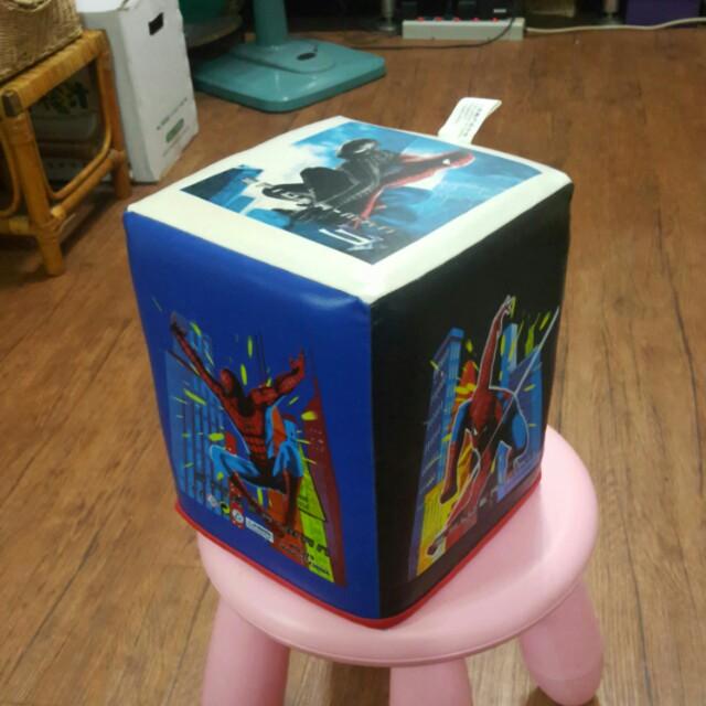 蜘蛛人兒童座墊