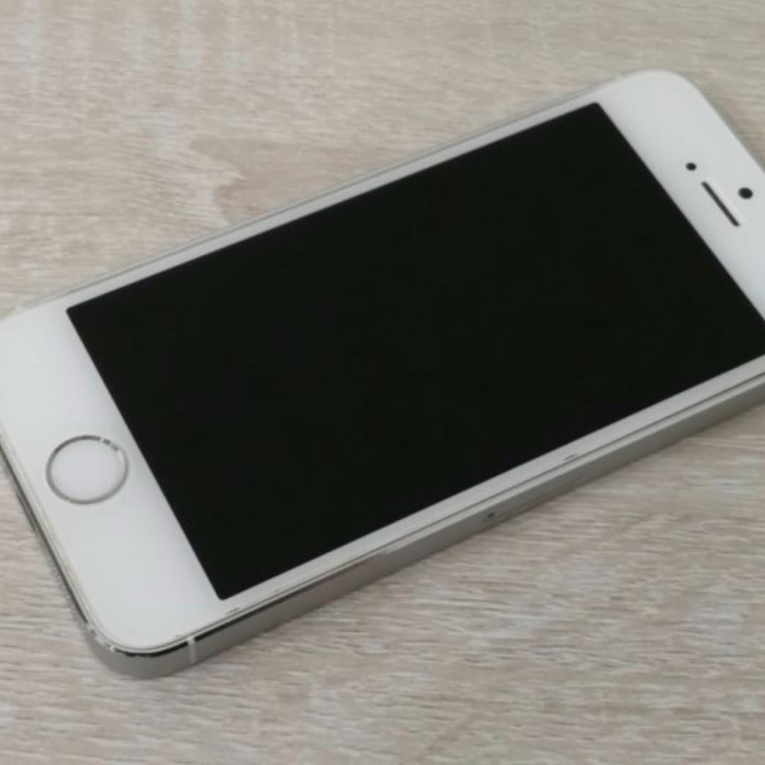 二手機 蘋果 Apple iPhone5s 16GB 銀色 中古機/己過保固 /功能正常