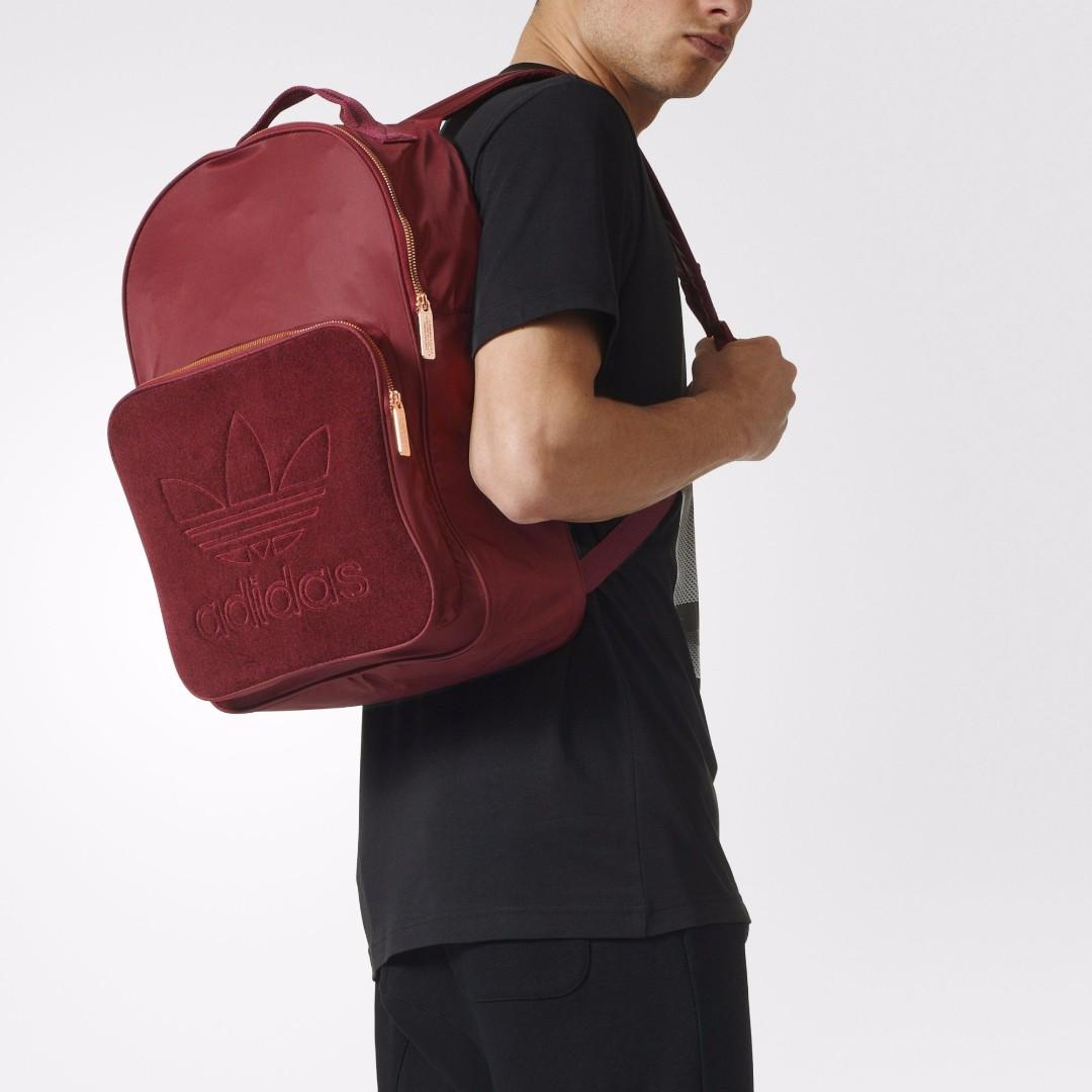 adidas Originals Unisex Maroon Classic Backpack