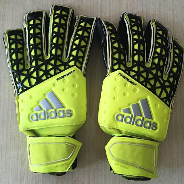 adidas ace zones fingersave goalkeeper gloves