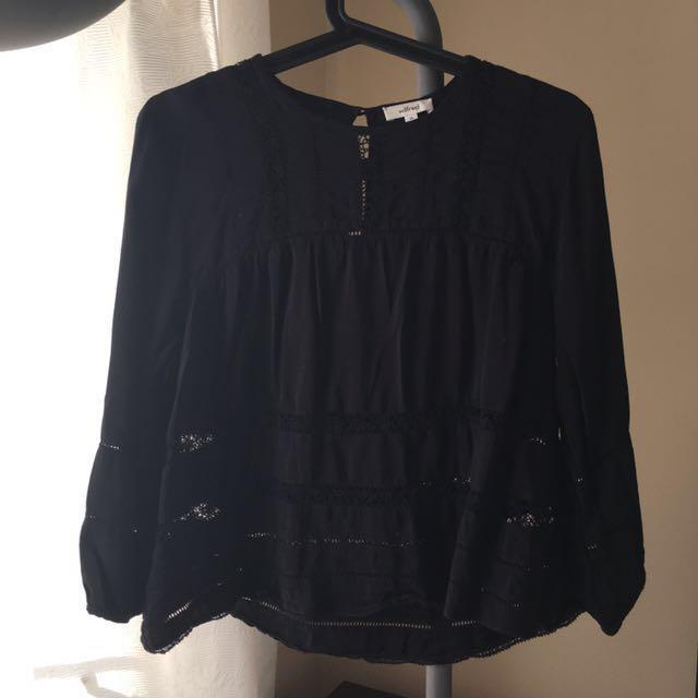 Aritzia Wilfred Armeria blouse