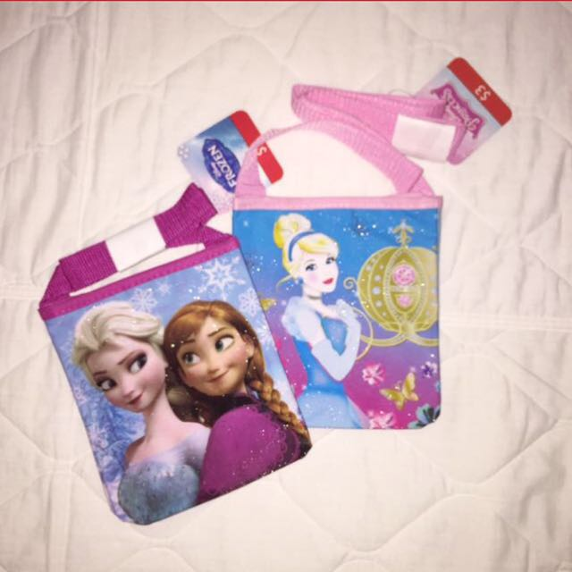 Authentic Disney Frozen/Princesses Sling Bag