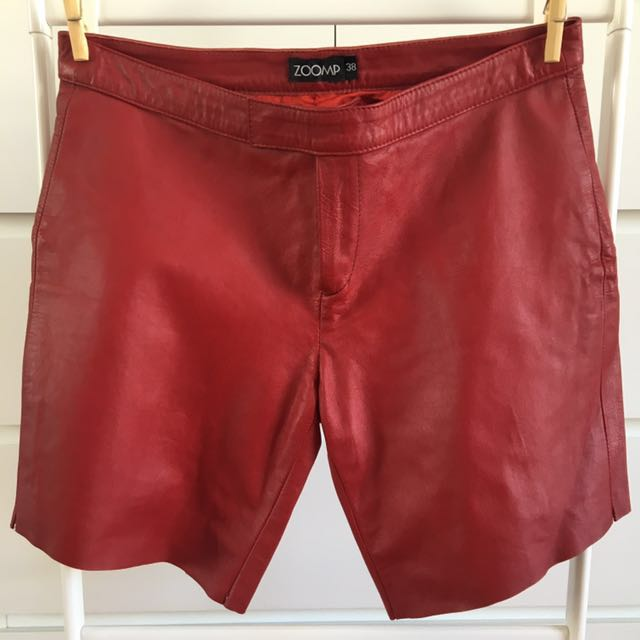 Authentic Leather Shorts
