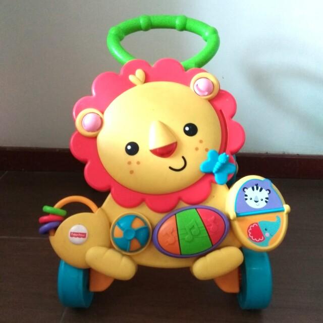 Sewa baby walker/Fisher price musical lion