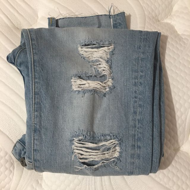 BARDOT JEANS RIPPED DENIM