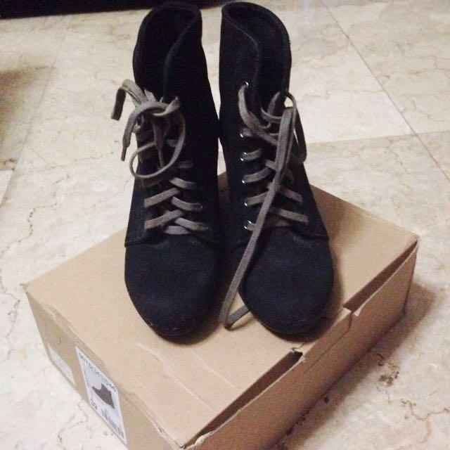 Bershka Sneakers Wedges #diskonkaget