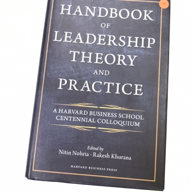 Book Of Leadership Theory And Practice Books Stationery Fiction