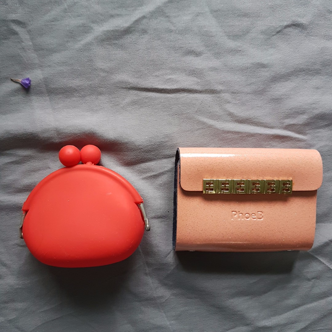 Both for RM5 Card Holder Wallet Purse Coin Pouch