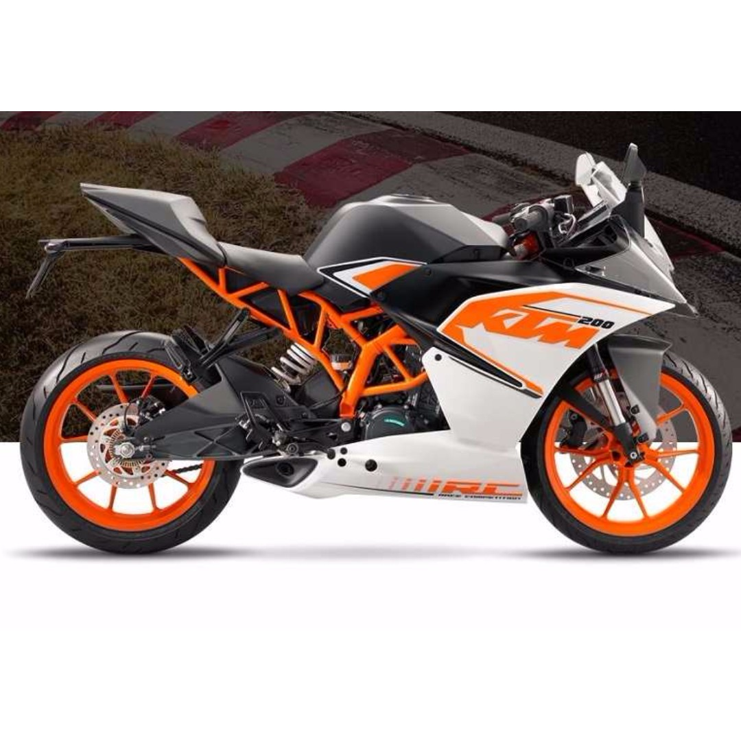 Brand New Ktm Rc 200 Motorbikes Motorbikes For Sale Class 2b On