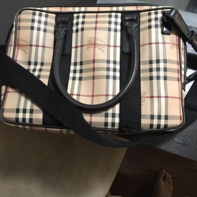 Burberry Briefcase Bag