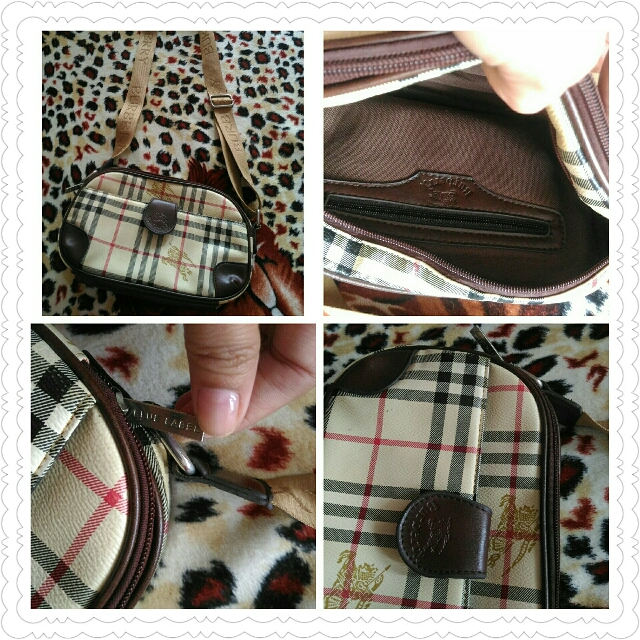 Burrberry Genuine leather Sling Bag