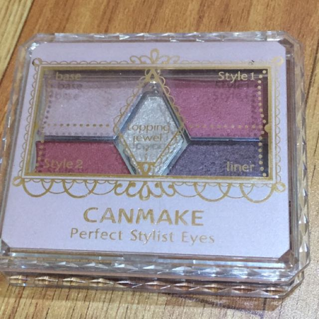 CANMAKE 梅紅色眼影 14號