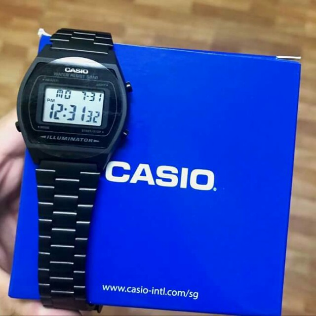 Casio Matte Black