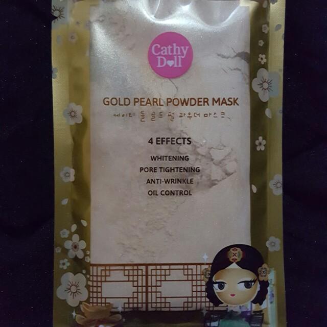 Cathy Doll Gold Powder Mask