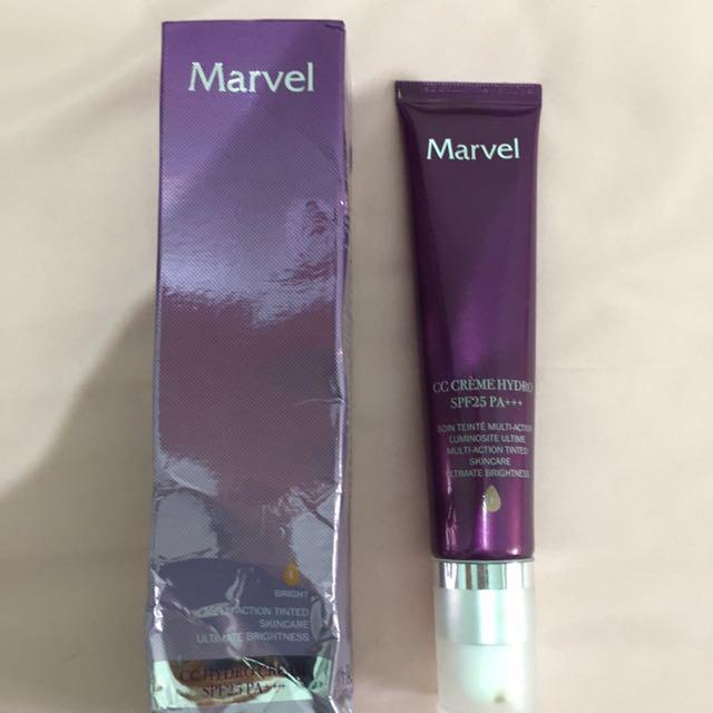 cc cream merk marvel / skin care busui bumil / ibu menyusui / ibu hamil