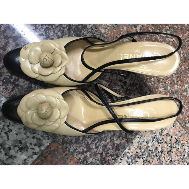 Chanel跟鞋