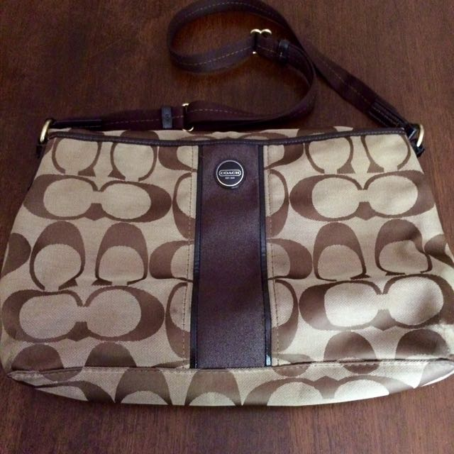 Coach Foldable Monogram