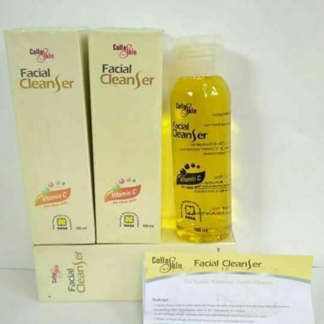 Collaskin Facial Cleanser Ori Nasa
