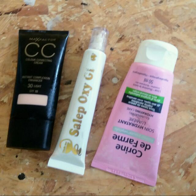 Cream Cc, Pelicin Oyglow, Day Cream Corina