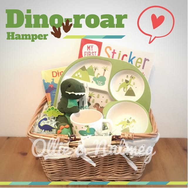 Dinosaur Baby 1st Birthday Hamper On Carousell