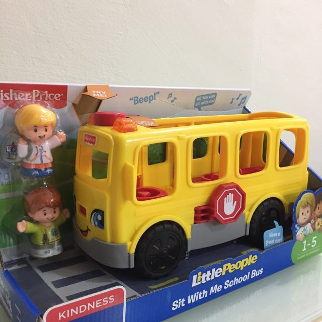 Fisher Price Little people sit with me school bus toy, Babies ...