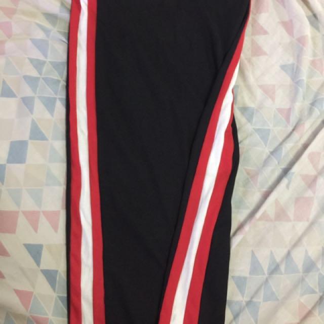 forever 21 track pencil skirt