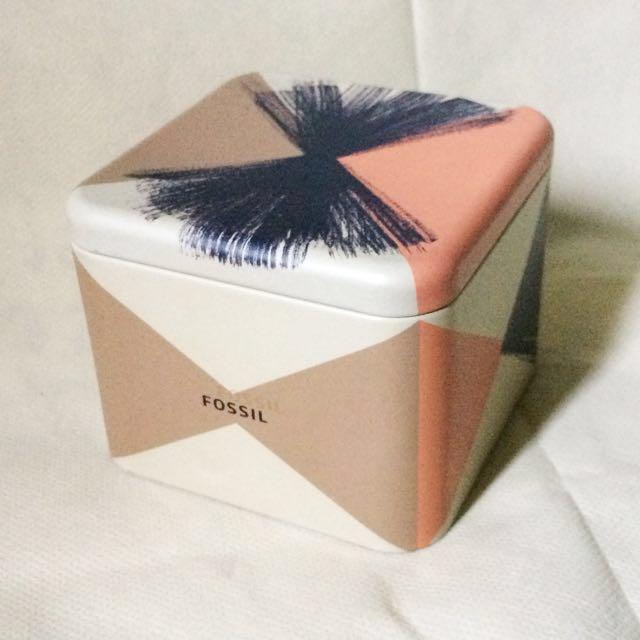 Fossil Tin Box Original #FLG