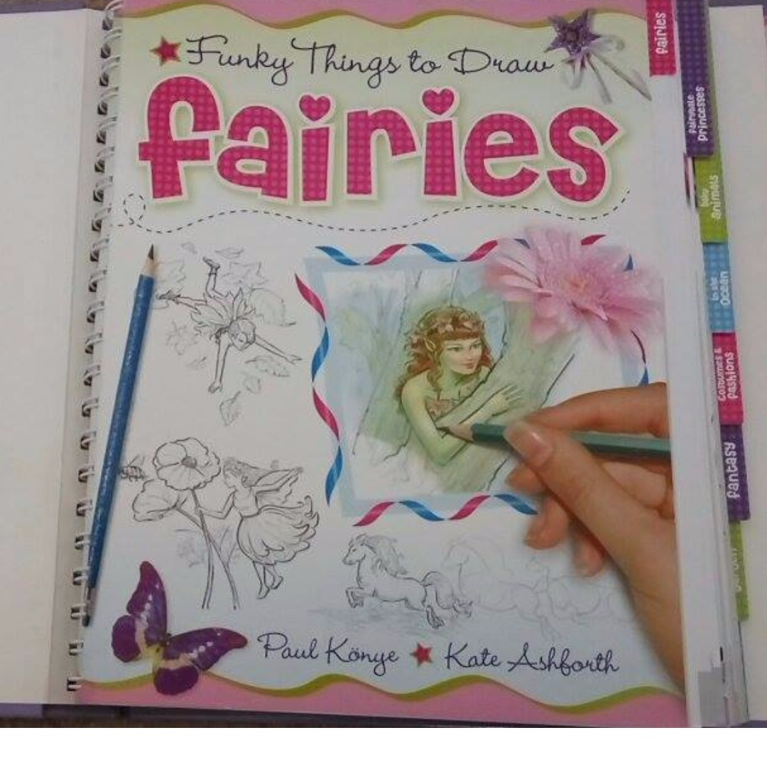 Funky Things to Draw (HOW-TO-DRAW BOOK) by Hinkler