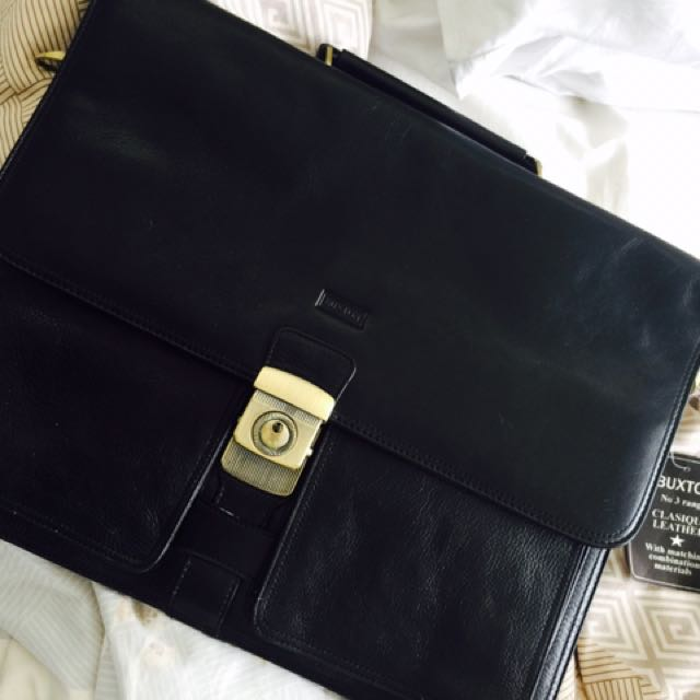 Genuine Leather Art Folder with tags . Never used !!