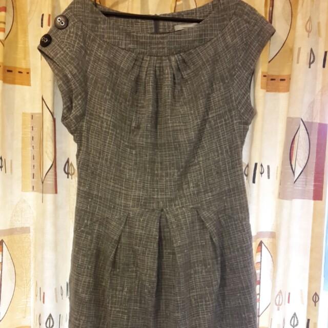 Grey veronika Maine dress