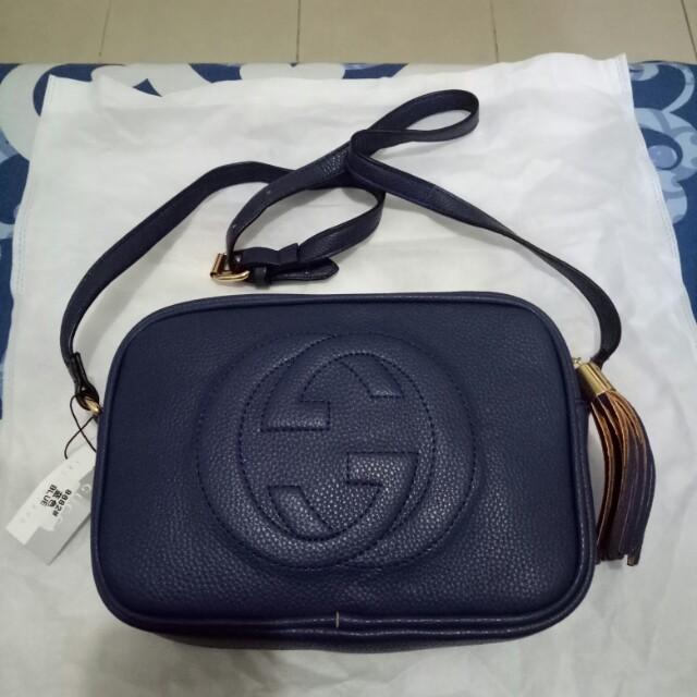 45ff99a53ec Gucci soho sling bag non authentic