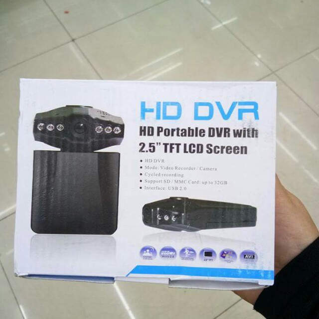 HD Portable DVR