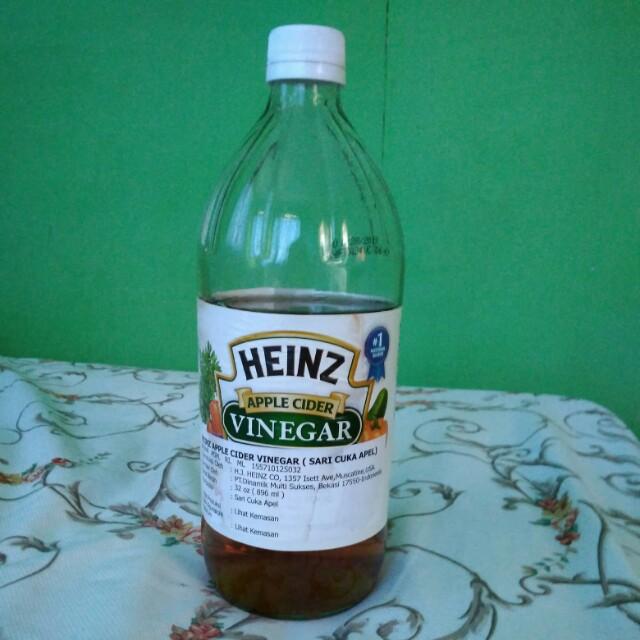 Heinz Apple Cider Vinegar toner jerawat parah
