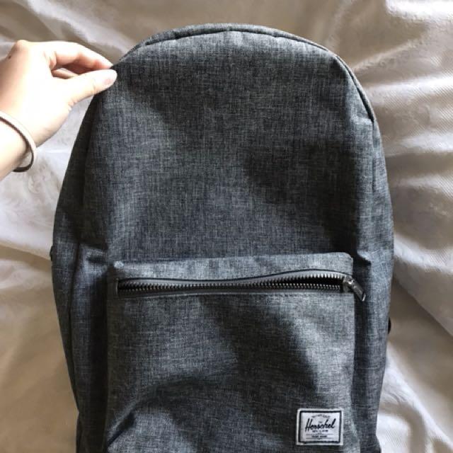 Herschel Grey Back Pack