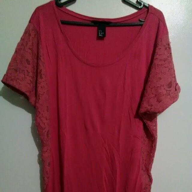 H&M Lace Design Blouse