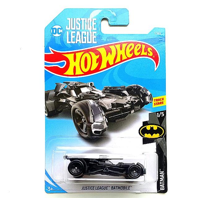 Hot Wheels Justice League Batmobile