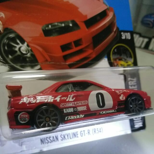 Hot Wheels Nissan Skyline GT R (R34), Toys U0026 Games, Others On Carousell