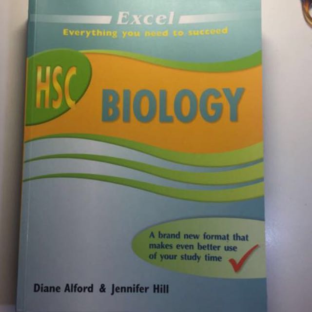 HSC EXCEL BIOLOGY TEXTBOOK