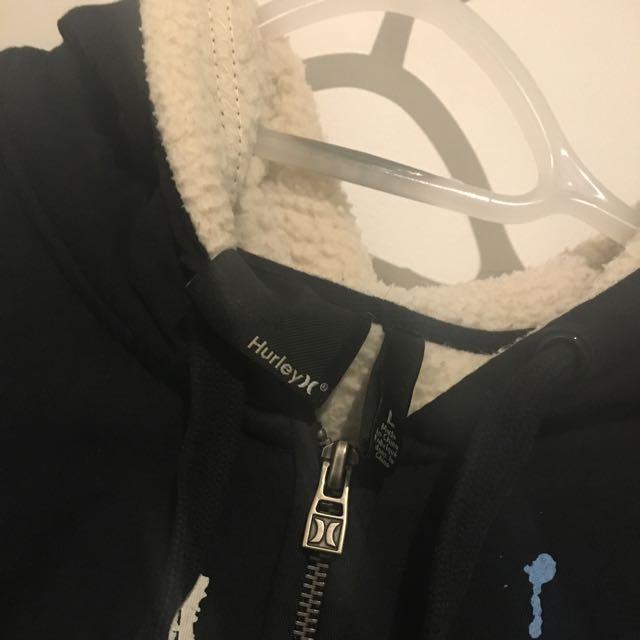 hurley hooded jacket