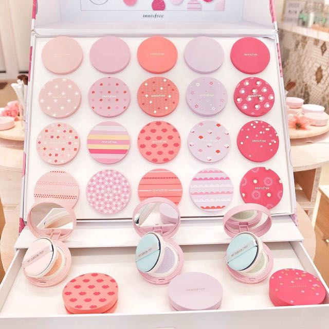 innisfree cushion case only (pink series)