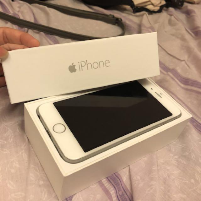 iPhone 6 銀色 128g 4.7吋