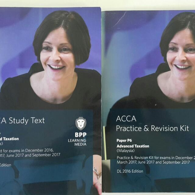 BPP ACCA P6 Text & Revision Kit (Malaysia)