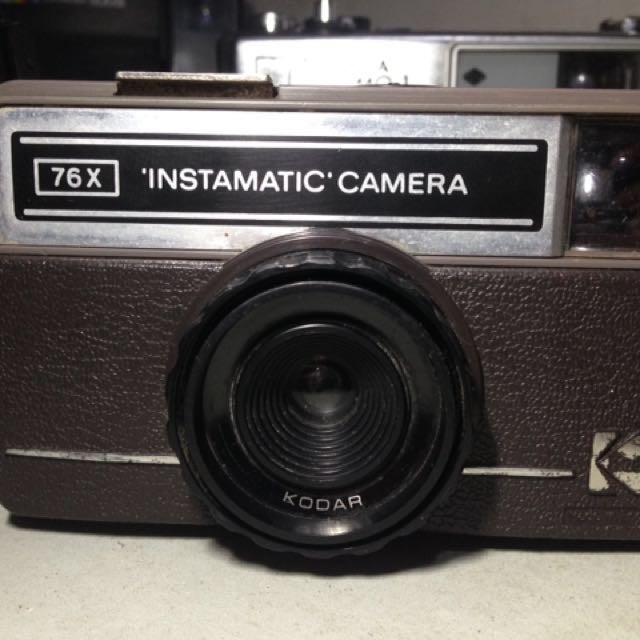 Kodak Instamatic 76x Analog Film Lomo #MauAnalog