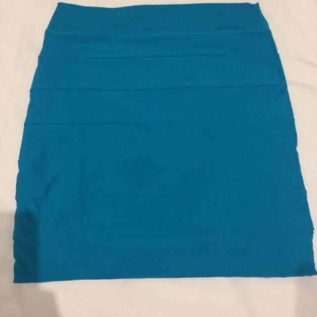 Kookai Blue Skirt